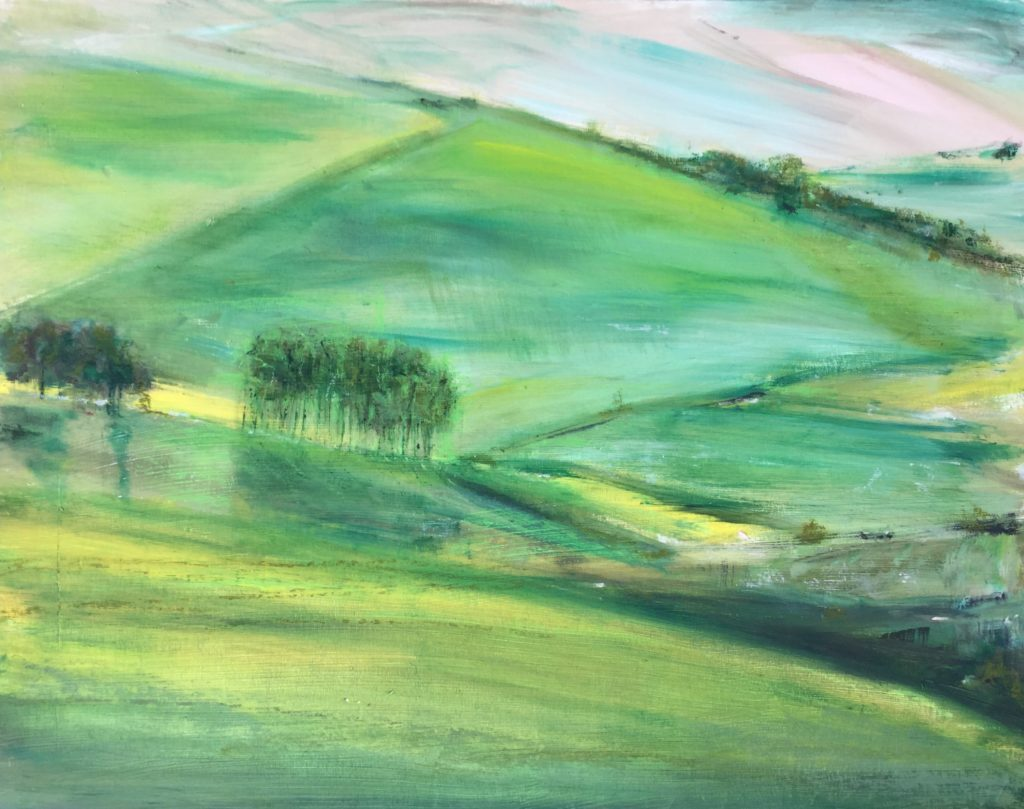 South Downs (oil)