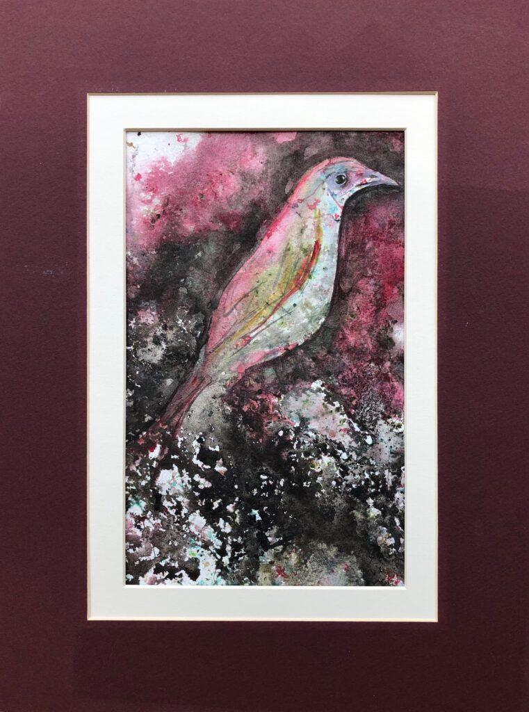 Birdsong (mixed media)