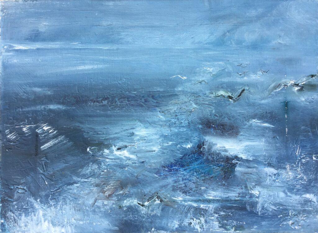 Rough Seas (oil)