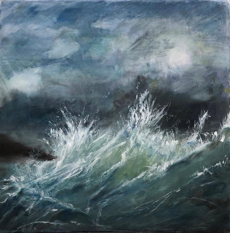 Crashing Waves (oil)
